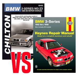 chilton vs haynes service manual